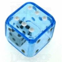 Koplow Blue Double 19mm D6 Spot Dice