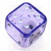Koplow Purple Double 19mm D6 Spot Dice