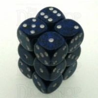 Chessex Speckled Stealth 12 x D6 Dice Set