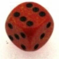 Chessex Speckled Fire 16mm D6 Spot Dice