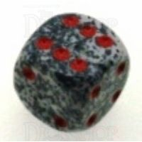 Chessex Speckled Granite 16mm D6 Spot Dice