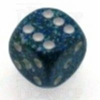 Chessex Speckled Sea 16mm D6 Spot Dice