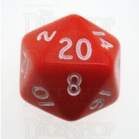 D&G Opaque Red D20 Dice