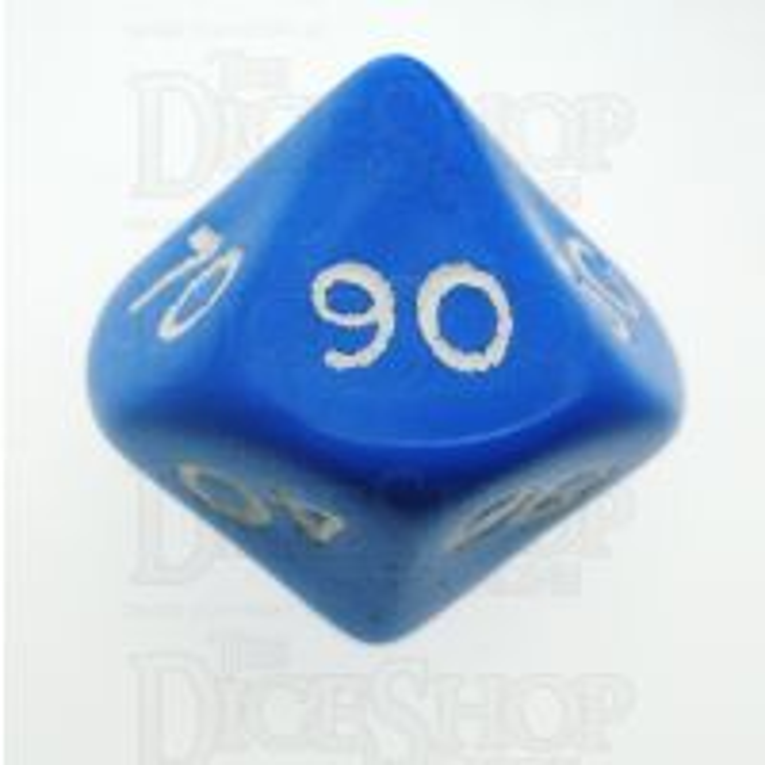 D&G Opaque Blue Percentile Dice