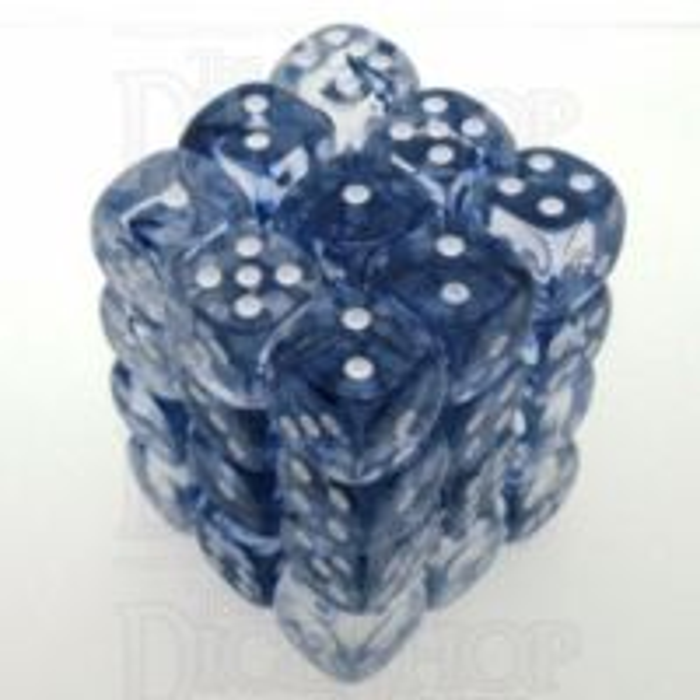 Chessex Nebula Black 36 x D6 Dice Set