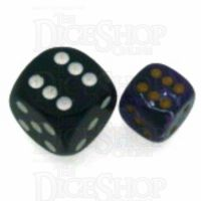Chessex Vortex Purple 12mm D6 Spot Dice