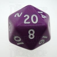 D&G Opaque Purple D20 Dice