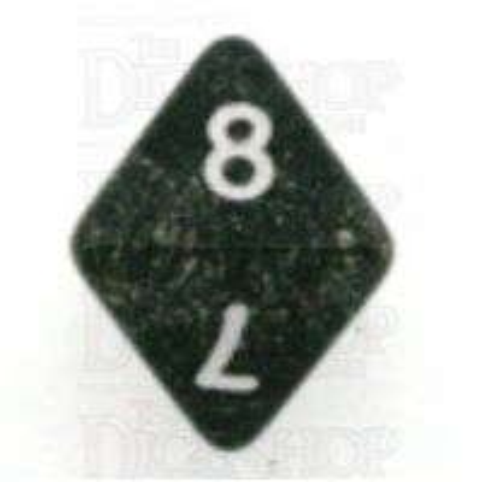 Koplow Glitter Black D8 Dice