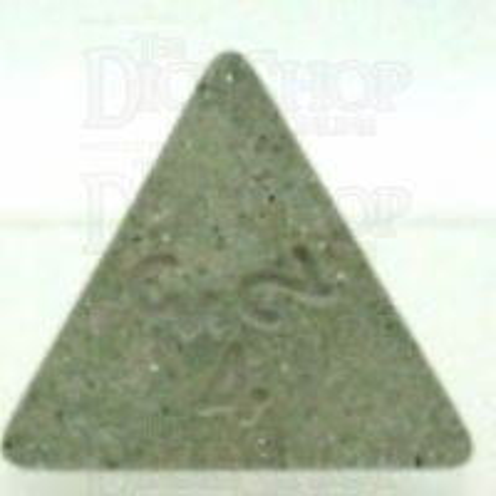 Koplow Glitter Clear D4 Dice