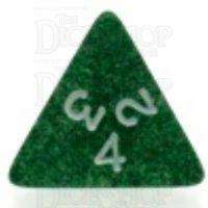 Koplow Glitter Green D4 Dice