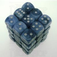 Chessex Phantom Black 36 x D6 Dice Set - Discontinued