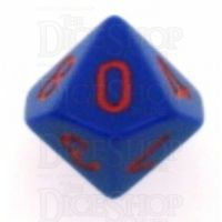 Chessex Opaque Purple & Red D10 Dice - Discontinued
