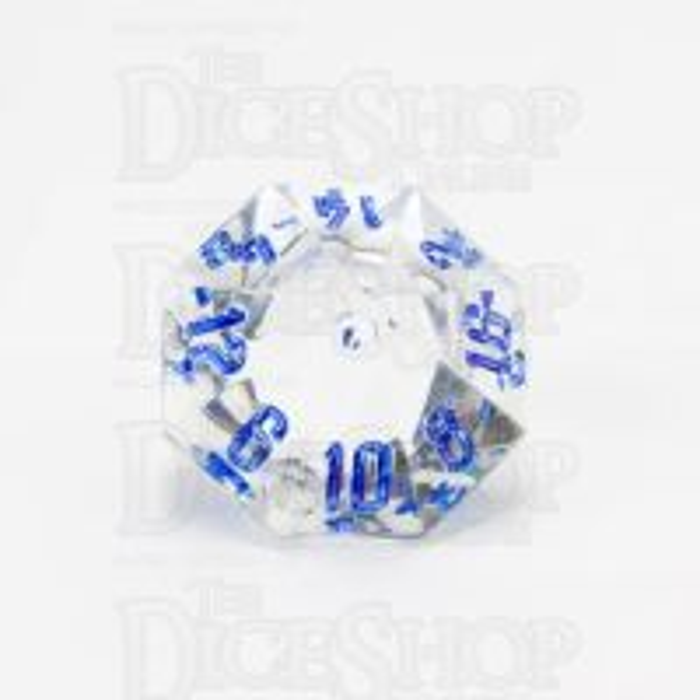 GameScience Gem Diamond & Blue Ink D16 Dice