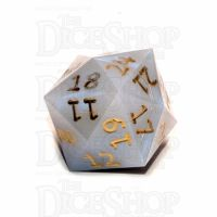 GameScience Blue Opal & Gold Ink D24 Dice