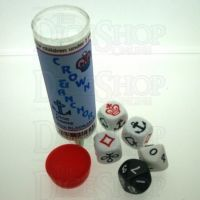Koplow Crown and Anchor 3 x D6 2 x D10 Dice Game