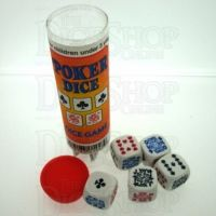 Koplow Poker 5 x D6 Dice Game