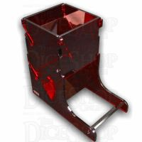 Litko Acrylic Dice Tower Translucent Red - TRD