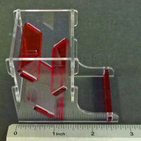 Litko Acrylic Dice Tower MINI Red (GMG091-TRD)