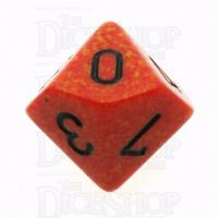 Chessex Speckled Fire D10 Dice