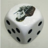D&G Tank Logo 22mm D6 Dice Russian T70 (8) - Discontinued