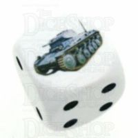 D&G Tank Logo 22mm D6 Dice (15) - Discontinued