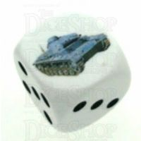 D&G Tank Logo 22mm D6 Dice (16) - Discontinued