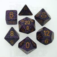 Chessex Speckled Hurricane 7 Dice Polyset