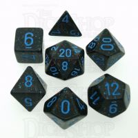 Chessex Speckled Blue Stars 7 Dice Polyset