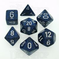 Chessex Speckled Stealth 7 Dice Polyset