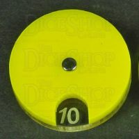 Litko Circle Combat Dials Opaque Yellow x 2 (TS232-YLW)