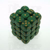 Chessex Speckled Golden Recon 36 x D6 Dice Set