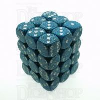 Chessex Speckled Sea 36 x D6 Dice Set