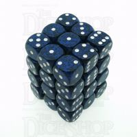 Chessex Speckled Stealth 36 x D6 Dice Set