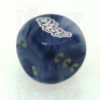 Chessex Phantom Black AAAGH Logo D6 Spot Dice