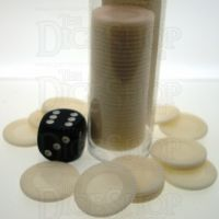 Koplow Casino Stacking Poker Chips White x 50