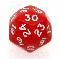 D&G Opaque Red JUMBO 28mm D30 Dice