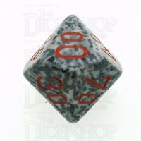 Chessex Speckled Granite Percentile Dice