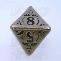 Q Workshop Steampunk Metal D8 Dice