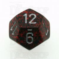 Chessex Speckled Silver Volcano D12 Dice