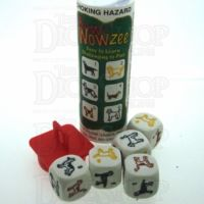 Koplow Dog Breed Bow Wowzee 5 x D6 Dice Game