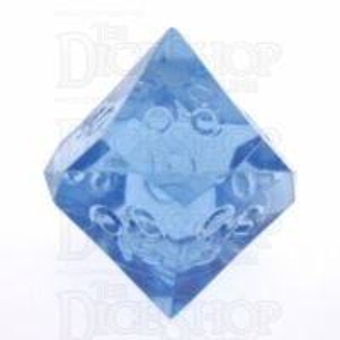 GameScience Gem Ice Blue Moonstone Percentile Dice