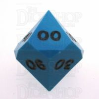 GameScience Opaque Turquoise & Black Ink Percentile Dice