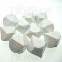 GameScience Opaque Seashell 10 x D10 Dice Set