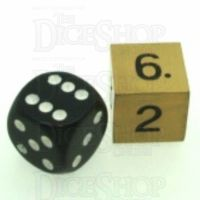 TDSO Metal Antique Gold Finish JUMBO D6 Dice