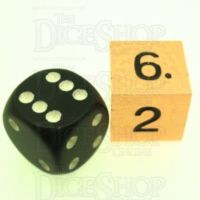 TDSO Metal Polished Copper Finish JUMBO D6 Dice
