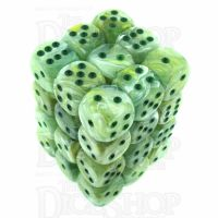 Chessex Marble Green 36 x D6 Dice Set