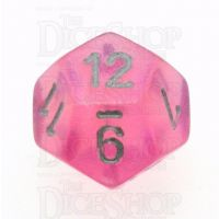 Chessex Borealis Pink D12 Dice