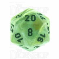 Chessex Marble Green D20 Dice
