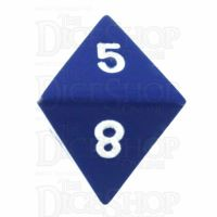 TDSO Metal Spectrum Blue Finish D8 Dice - Discontinued