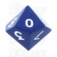 TDSO Metal Spectrum Blue Finish D10 Dice - Discontinued